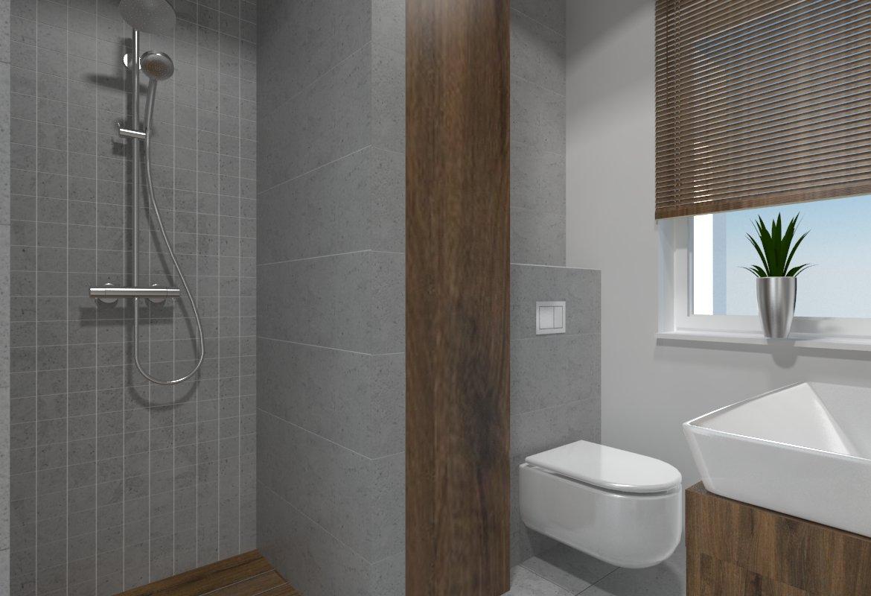 Projekt łazienki pod Gorzowem