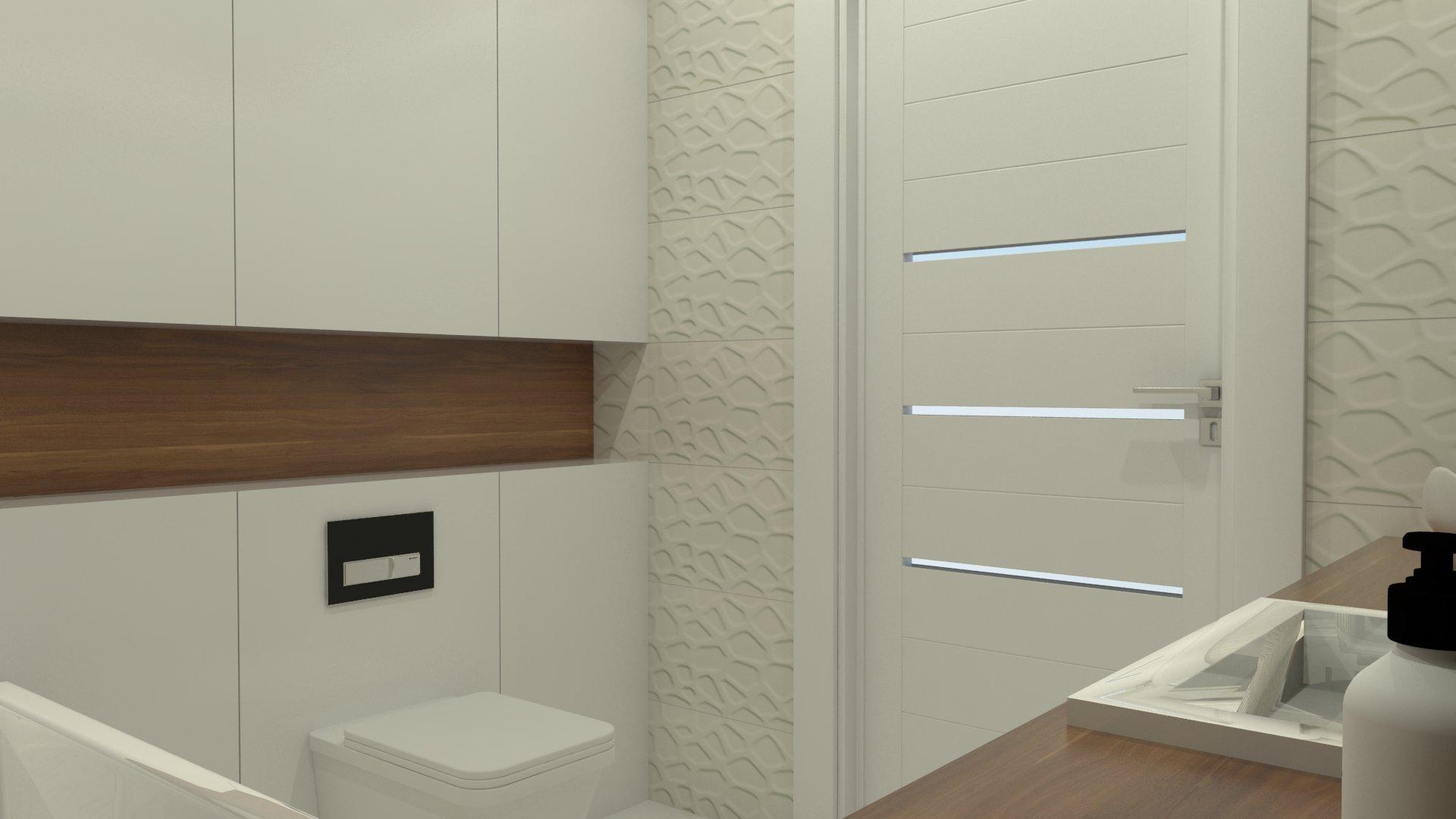 Projekt łazienki W Bloku Gorzów Novoartpl